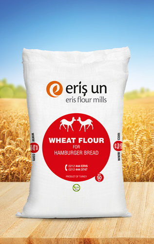 WHEAT FLOUR FOR HAMBURGER BREAD